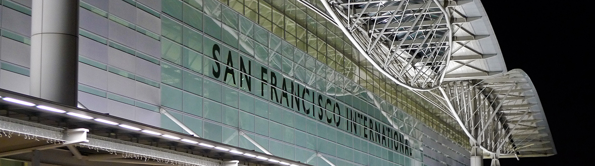 Located in SFO International Terminal